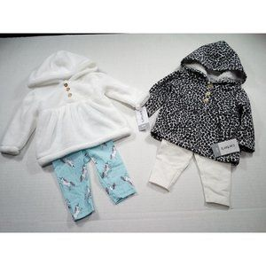 NEW CARTERS LOT OF 2 OUTFITS
